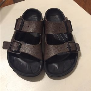 Brown Birkenstocks Size 36
